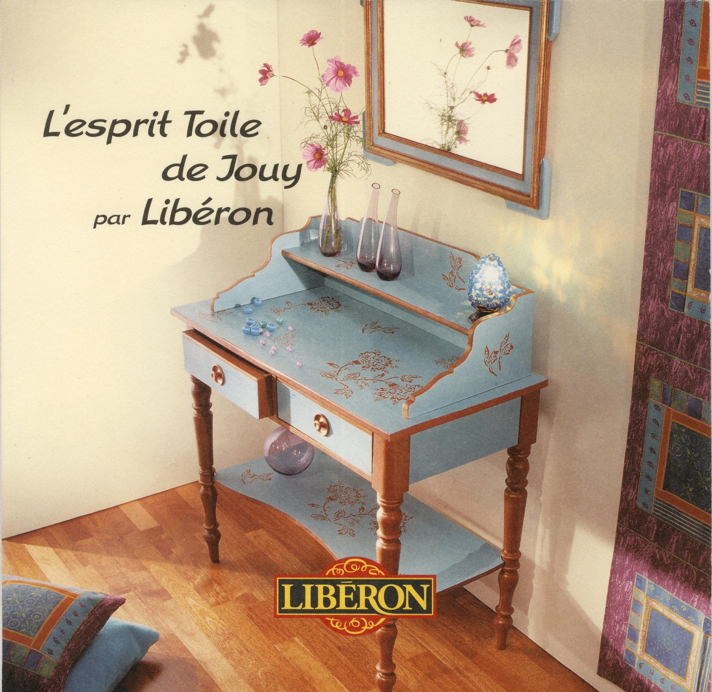 Crea Pochoir & realisation pour LIBERON-2003