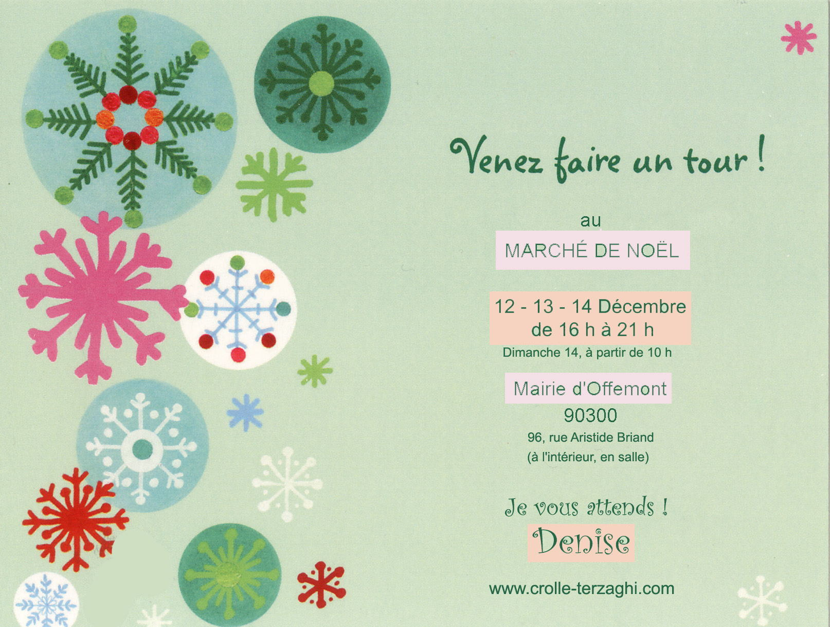 Venez ce week end au march de nol doffemont invitation march noel offemont2014 stopboris Choice Image
