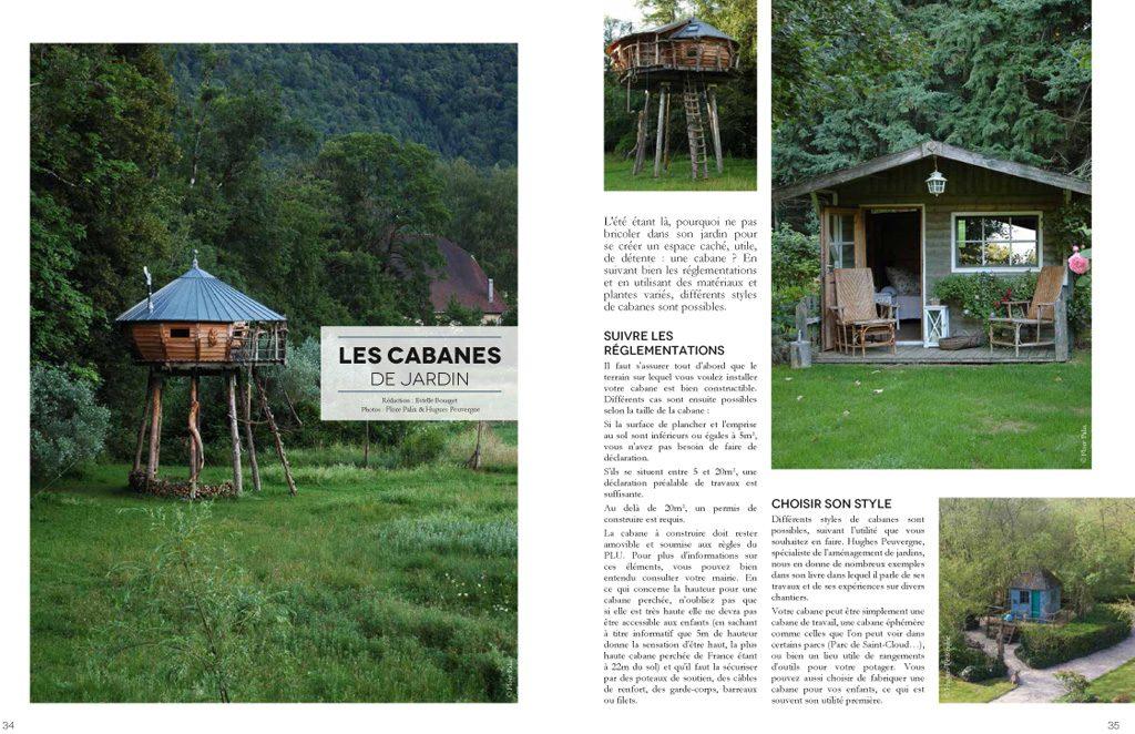 une petite cabane dans mon jardin vue dans le magazine bdm. Black Bedroom Furniture Sets. Home Design Ideas